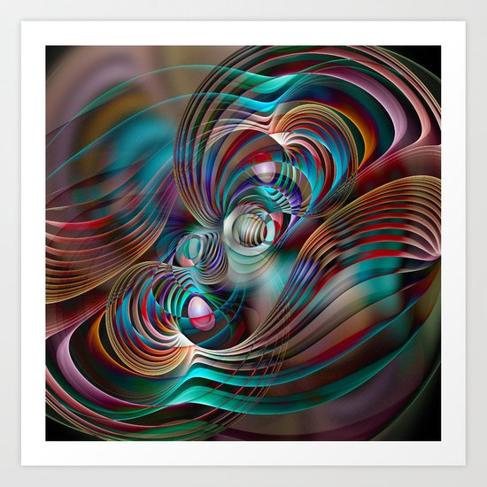 New Waves Art Print