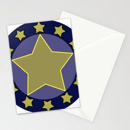 hero shield Stationery Cards