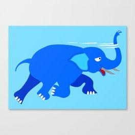 Loch Ness Elephant Theory Canvas Print
