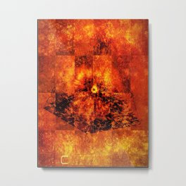 Orange 2 Metal Print