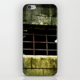 The Gradual Death Of Confinement Behind Bars iPhone Skin