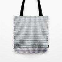 grid Tote Bags featuring Grid by Kaamil Ajmeri