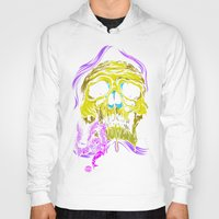 gore Hoodies featuring SKULL-GORE by scarecrowoven