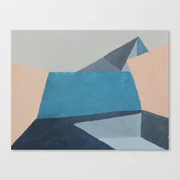Back to the concrete Canvas Print