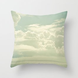 As the Clouds Gathered Throw Pillow