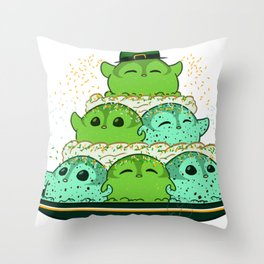 Penguinscoops - Mountain - St.Patrick Throw Pillow
