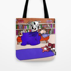 Let Sleeping Boys Lie Tote Bag
