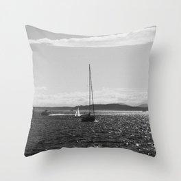 Elliott Bay Throw Pillow