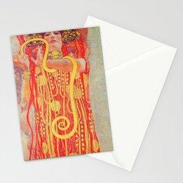 Hygieia - Gustav Klimt Stationery Cards