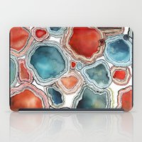 agate iPad Cases featuring AGATE by Kelsey Eckstrom