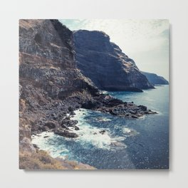 Wild Coast - La Palma - Canary Islands Metal Print