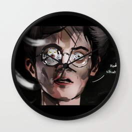 hedwige, what the ... ? Wall Clock