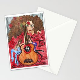 """""""Unstrung II"""" Stationery Cards"""