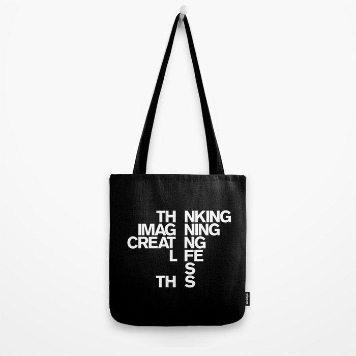 LIVING Tote Bag