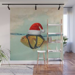 A Brilliant Disguise Christmas Wall Mural