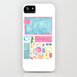 Pool Party! iPhone Case