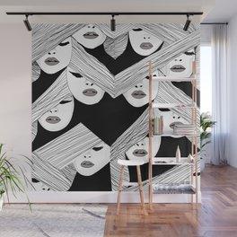 Audrey pattern Wall Mural