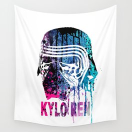 WARS #KYLO REN #COLOR Wall Tapestry
