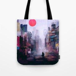 Strange Mornings Tote Bag