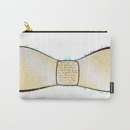 Bow to the words Carry-All Pouch