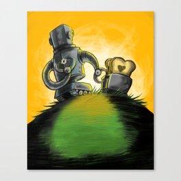 Love is Toast Canvas Print