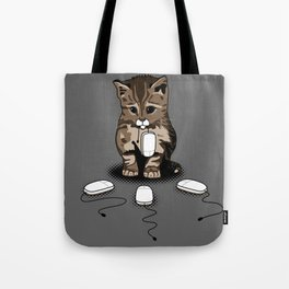 Eyes of cat Tote Bag