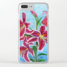 Lily Clear iPhone Case