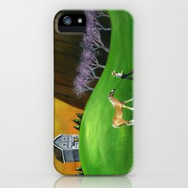 Hilly Horse iPhone Case