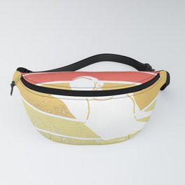 Waterfootball Vintage Wopo Pool Ball Water Polo Fanny Pack
