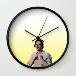 Jemaine Clement 8 Wall Clock