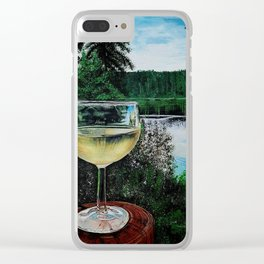 Water and White Clear iPhone Case