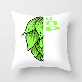 Hoptimist Craft Beer Beer Consumer Ipa Beer Microbrewing Throw Pillow
