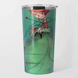 Plastic recycling Travel Mug