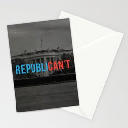 RepubliCAN'T Stationery Cards
