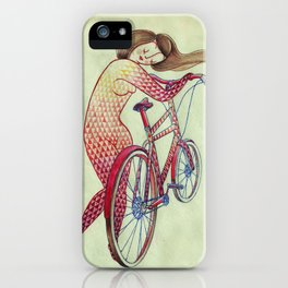 Bicycle hugger iPhone Case