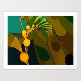 Giant Kelp Art Print