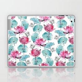 Waterlily buds Laptop & iPad Skin