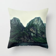 Roots of the Mountains Throw Pillow