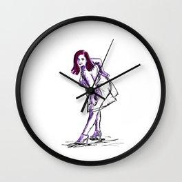 DD in the Rain Wall Clock