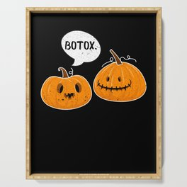Pumpkins With A Facelift for Pumpkie Pie Lover Serving Tray