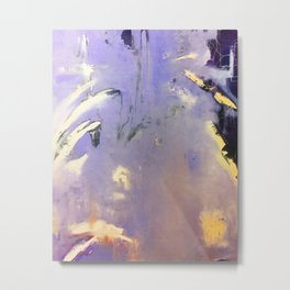 Purple Abstraction Metal Print