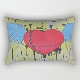 Flying From Love Rectangular Pillow