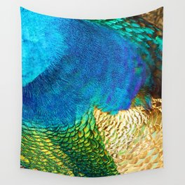 Colors of the Peacock Wall Tapestry
