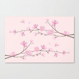 Cherry Blossom - Pink Canvas Print