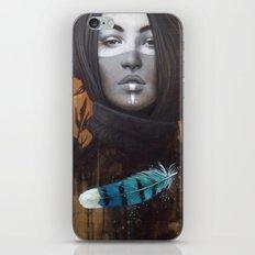 Marie-Bleue iPhone & iPod Skin