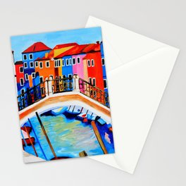 Colors of Venice Italy Stationery Cards