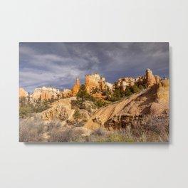 Bryce Canyon Skyline Metal Print