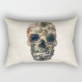 Skull Town Rectangular Pillow