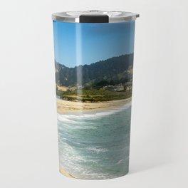 Carmel River State Beach, Carmel, California Travel Mug