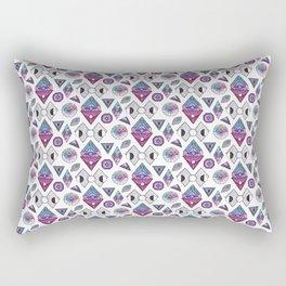 Sacred geometry inspired pattern Rectangular Pillow